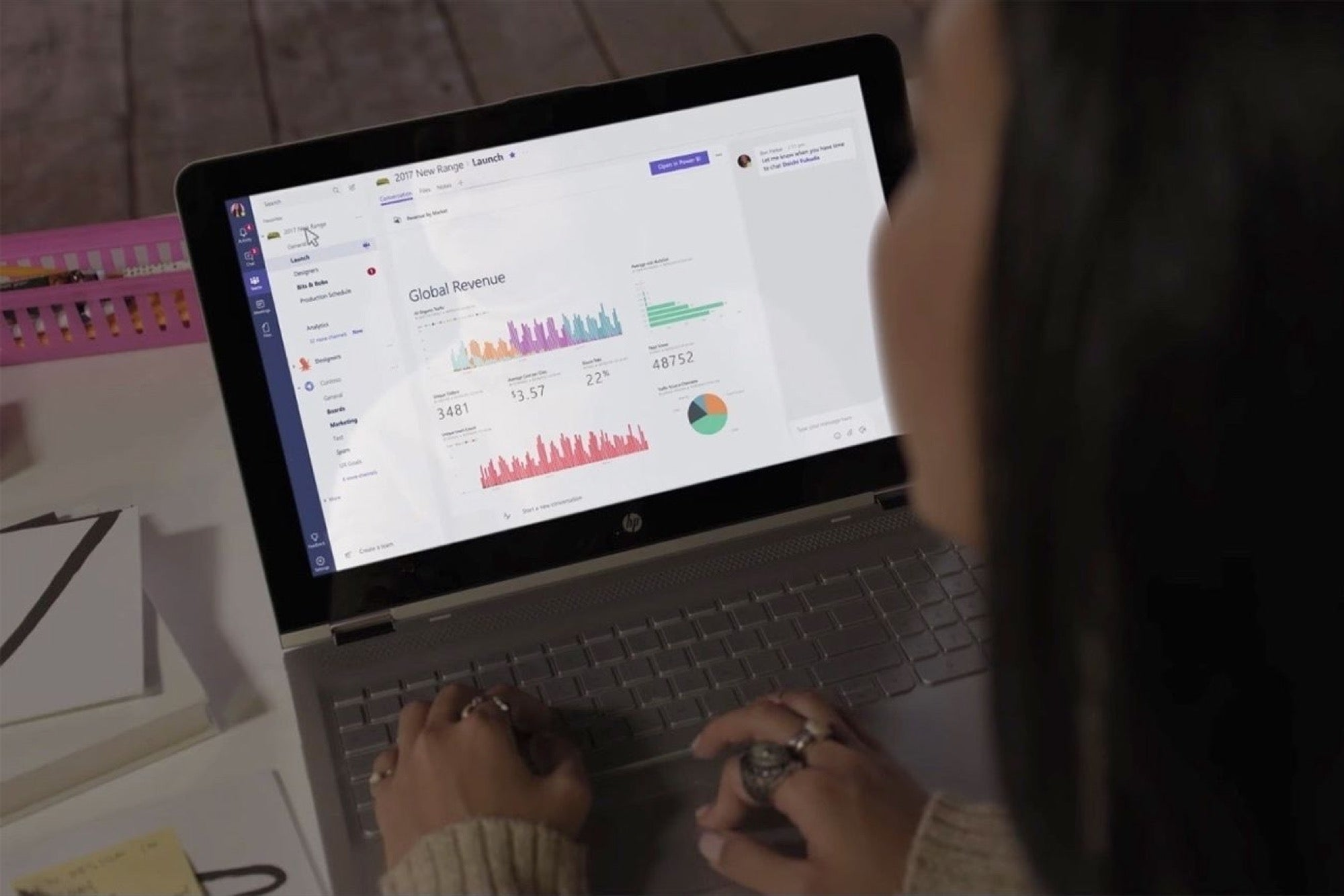 Microsoft's Teams Is Its Slack Competitor for Office 365